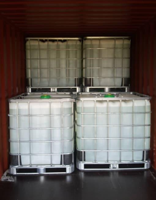Glyoxal as crosslinking agent Packaging