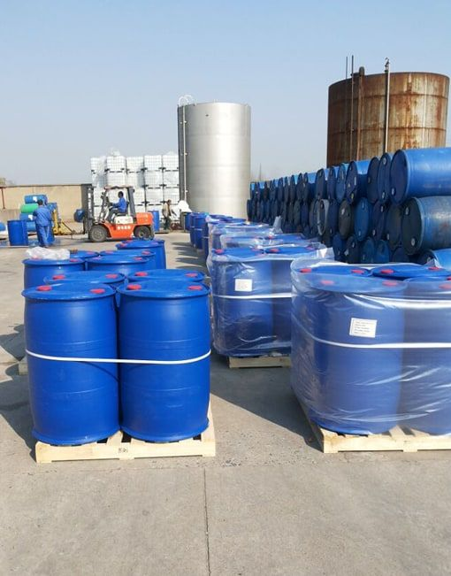 glyoxal 40% solution 250kg plastic drum