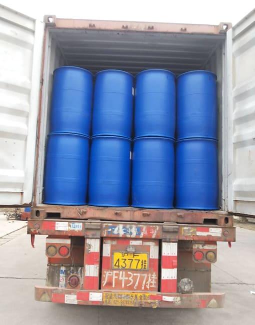glyoxal 40% solution 250kg drum