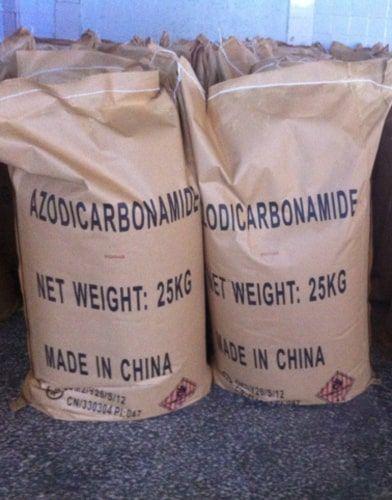 azodicarbonamide storing