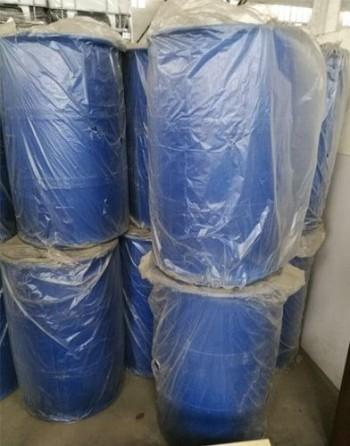 ethyl hexyl glycerin storing Plastic drums 180kg