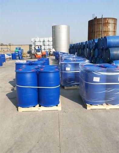 glyoxal 40% 250kg plastic drums packing