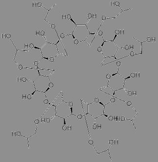 hydroxypropyl beta cyclodextrin chemical structure