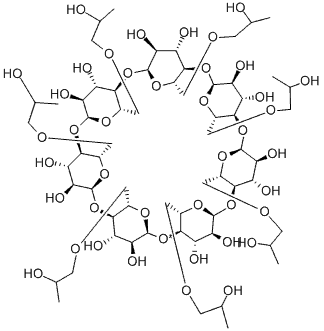 hydroxypropyl beta cyclodextrin chemical structure