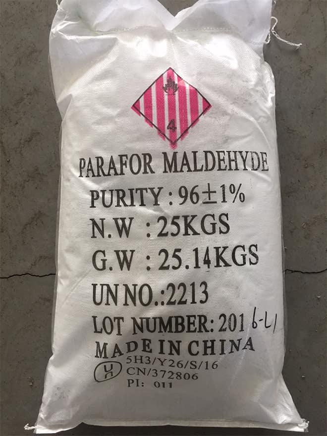 paraformaldehyde packaging