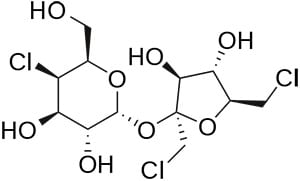 sucralose chemical structure