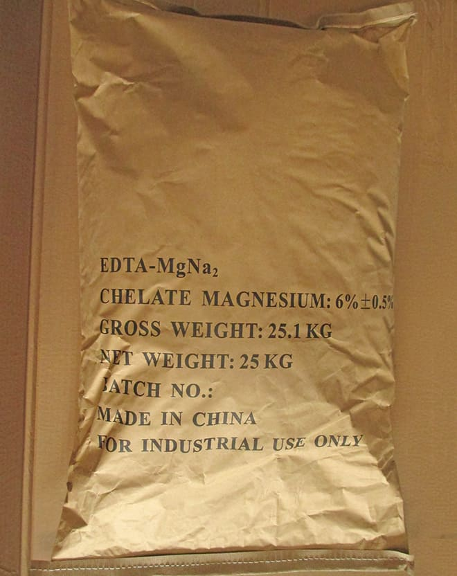 EDTA-MgNa2 packaging