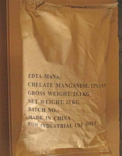 EDTA-MnNa2 packaging