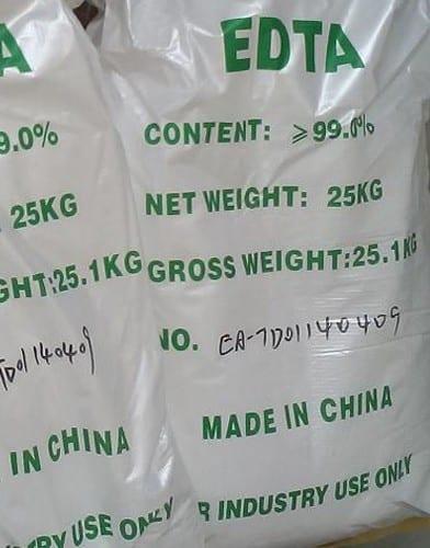 EDTA acid package