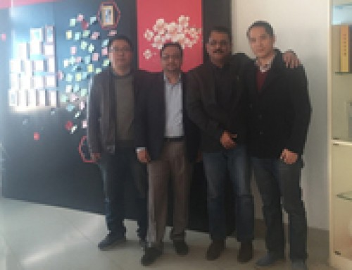 Indian customer visited our factory