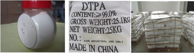 dtpa acid pachaging and appearance