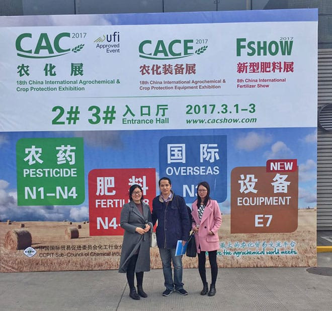 Zhonglan Industry attended CAC
