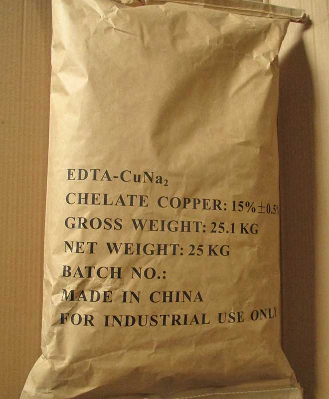 copper edta packaging