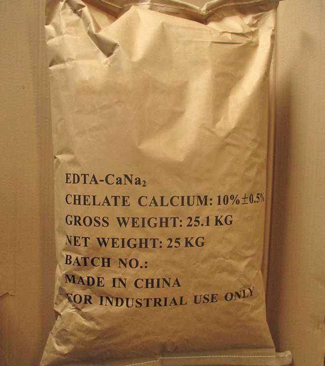 edta calcium packaging