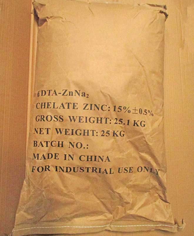 zinc edta packaging