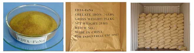 EDTA iron sodium appearance