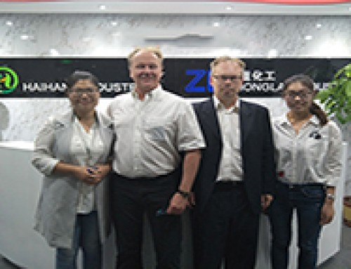 Finnish customers visited our company