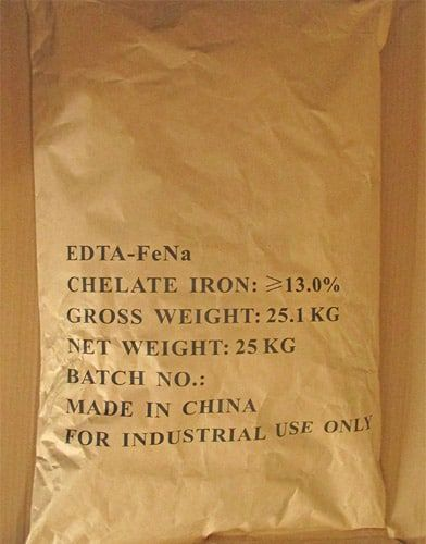 edta iron sodium packaging