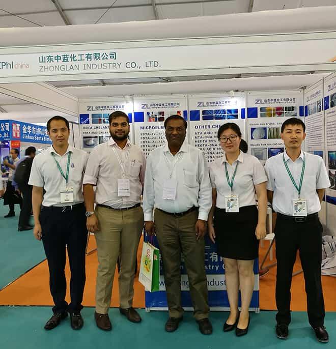 zhonglan industry attended cphi china 2017