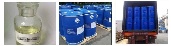 Benzyl benzoate appearance and package