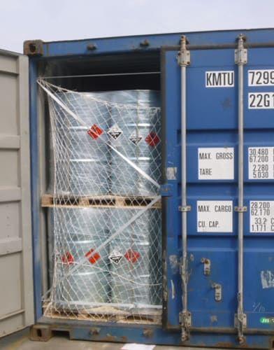 Liquid sodium ethylate transport