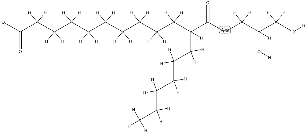 caprylic capric triglyceride Structure