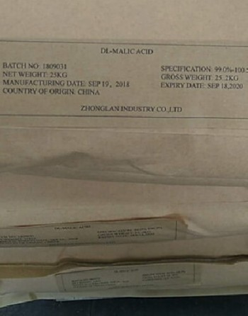 DL Malic Acid package1