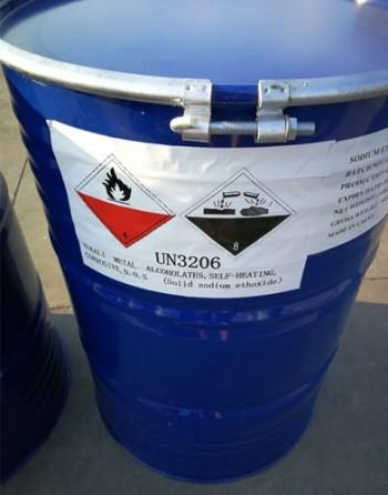 Sodium ethoxide packaging