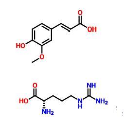 Arginine ferulate CAS 950890-74-1